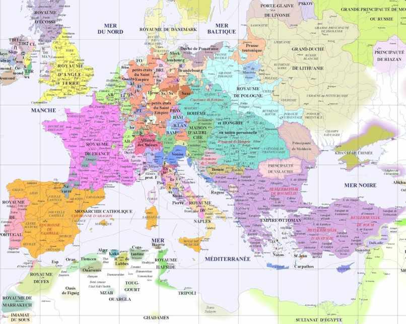 crete sur la carte du monde
