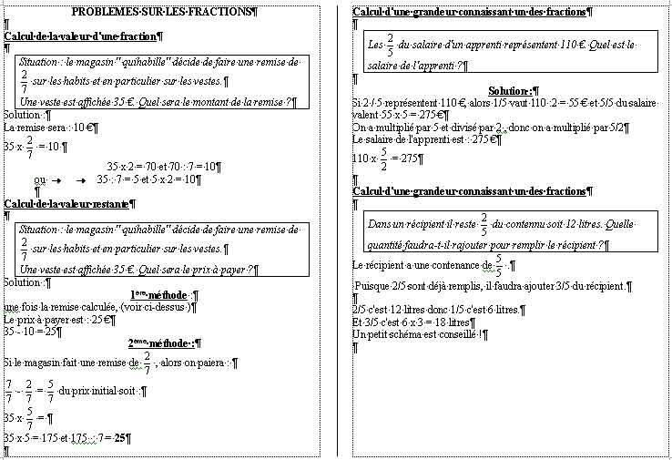 problèmes division cm2