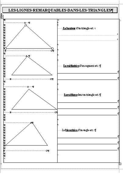 Extrêmement geometrie LR95